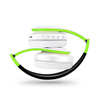 Free Shipping 2021 Colorfuls Music Earphones Wireless Stereo Headphones Bluetooth Headset with Mic Support TF Card Phone Calls 6