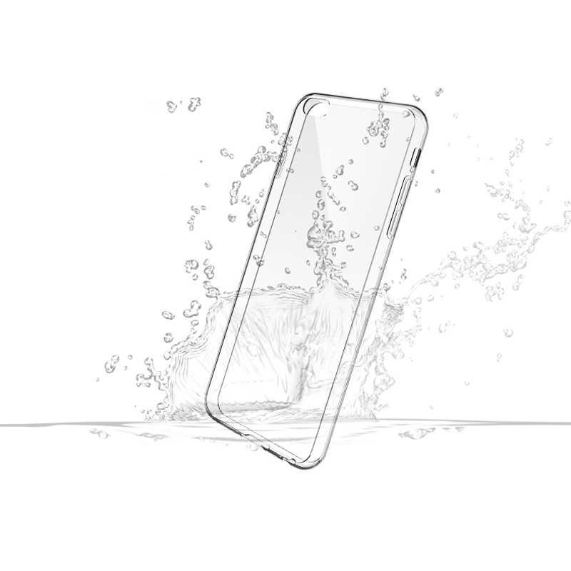 Iphone 5 6 6 s 7 8プラス× 4 4 s 5c 5 5 s seバンパーケース透明tpuスリムシリコンソフトクリスタル超薄型バックカバー