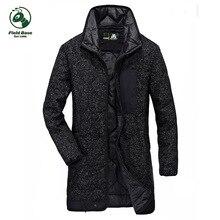 Field Base Winter Parkas casual men's jackets thick coats Military Jacket Warm Long jacket Coat Male brand mens clothing