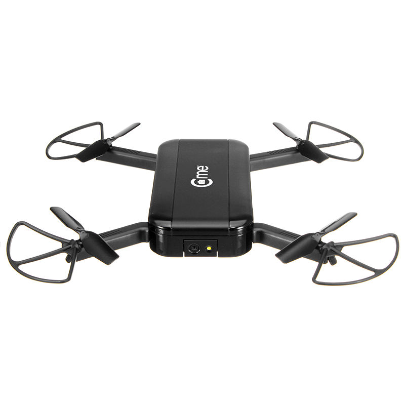 C-me Cme GPS WiFi FPV Selfie Drone w/1080 P HD Caméra GPS Altitude Hold Mode Pliable Bras RC Quadcopter Noir VS Eachine E56