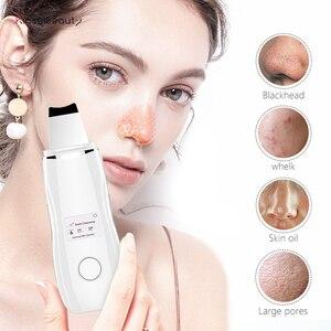 Image 1 - Ультразвуковой очиститель для кожи лица, очищение пор и угрей, очищение пор, лифтинг, очищение пор, очищение пор