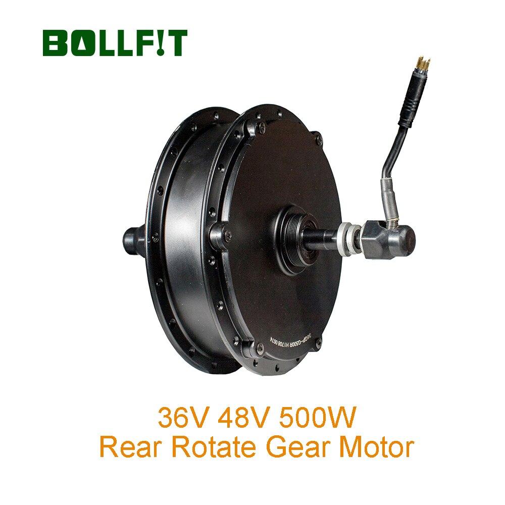 BOLLFIT 36V 500W arrière rotation moteur Direct 35 km/h vert Pedel MXUS haute vitesse sans balais moyeu moteur e-bike roue