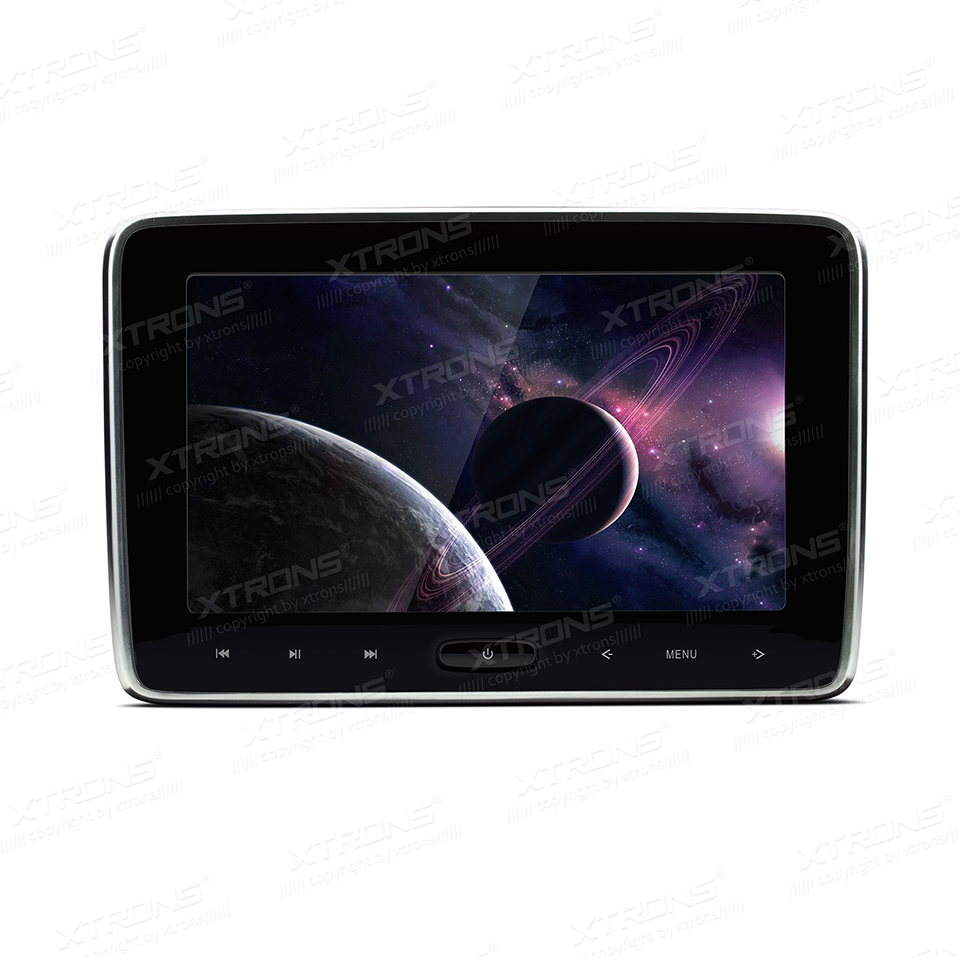 10.1 HDMI Pillow Monitor Car Headrest DVD Player 1024*600 Screen Auto Game Portable PC Audio Touch Panel USB SD IR FM CD Media