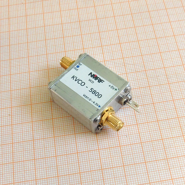 5.8G RF microwave voltage controlled oscillator, VCO, sweep signal source, signal generator труборез rothenberger mini max 70015