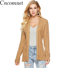 Women Knit Cardigan Belt Loose Thick Sweater Jacket 2018 Autumn Winter New Fashion Sweater Coat fat mm sweater 2017 autumn winter the new fashion loose cardigan hooded thick knitting casual ms sweater coat m 5xl plus size a