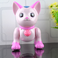 Yingjia new family of intelligent voice Doraemon new remote control electric educational toys animal toys birthday gift