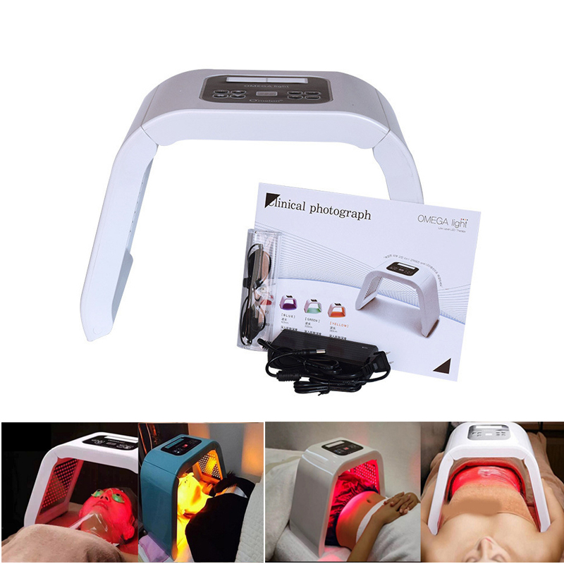 New 7 Color LED Photon Light Therapy LED Mask Machine PDT Lamp Treatment Facial Acne Anti-wrinkles Massager Skin Care Beauty Spa
