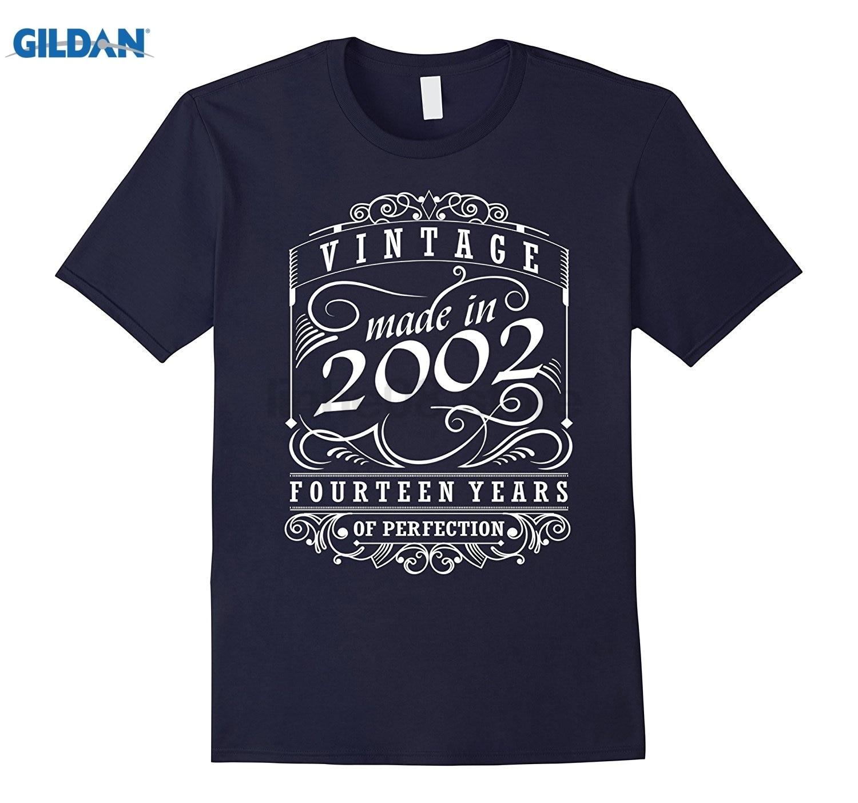 GILDAN 2002 Fourteen Years Of Perfection Birthday Gift T-Shirt Womens T-shirt
