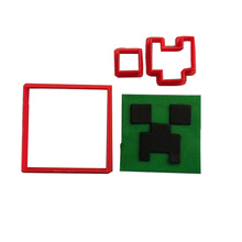 Minecraft Sword Cookie Cutters Custom Made 3D Printed Cookie Tools Fondant Cupcake Top Mould Cake Decorating Tools