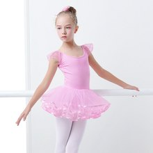 Toddler Girls Ballet Tutu Dress Dance Leotards Pink Fairy Cute Tutu Ballet Dress