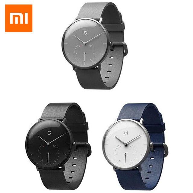 Оригинальный Xiaomi Mijia кварцевые SmartWatch BT4.0 IP67 Водонепроницаемый Шагомер умный напоминание Xiaomi Mijia кварцевые часы
