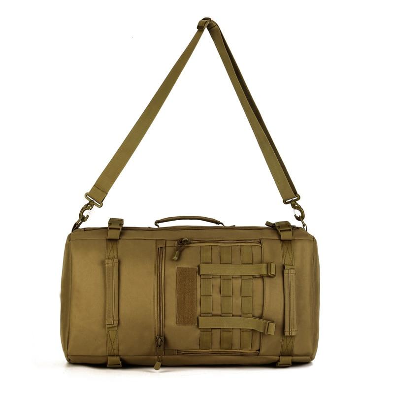 ผู้ชายทหาร 50L Molle Tatico กระเป๋าเป้สะพายหลังกระเป๋าไนลอนกันน้ำกระเป๋าเป้สะพายหลัง Multi   function กระเป๋าแล็ปท็อป Rucksack กระเป๋าเป้สะพายหลัง-ใน กระเป๋าเป้ จาก สัมภาระและกระเป๋า บน   3