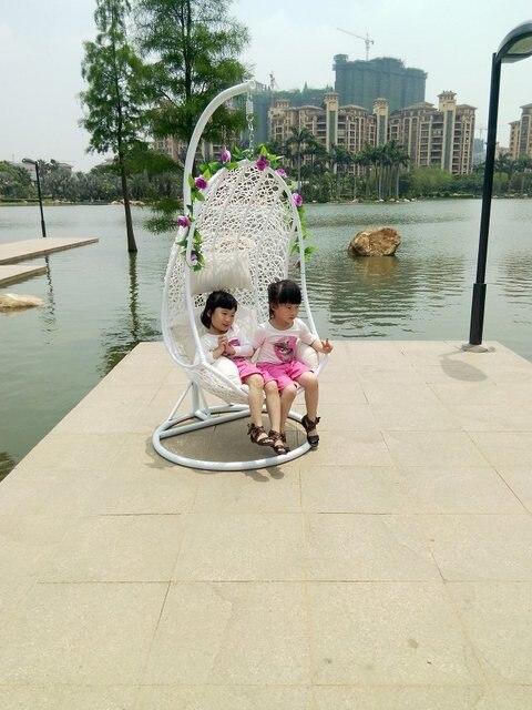 Heiße art outdoor garten schaukel hängesessel rattan prinzessin - hangesessel korb rattan