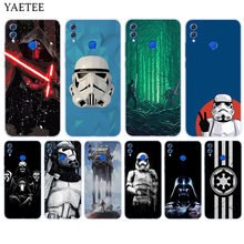 Star Wars Silicone Case For Huawei Honor 8X 8 9 10 lite 7X 6A 6X 9i 9N Play View 20 V20 Y5 Y6 Y7 Prime Y9 2018 2019 Cover Coque(China)