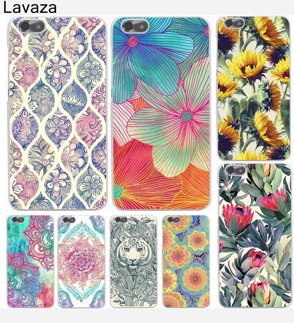 lavaza mandala flower datura floral hard case for huawei p6 p7 rh sites google com