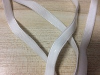 10mm Width 5 Yards White Elastic Transparent Silicone Slip Webbing For Sewing Diy Bra Strap Wide 10mm Dropshipping