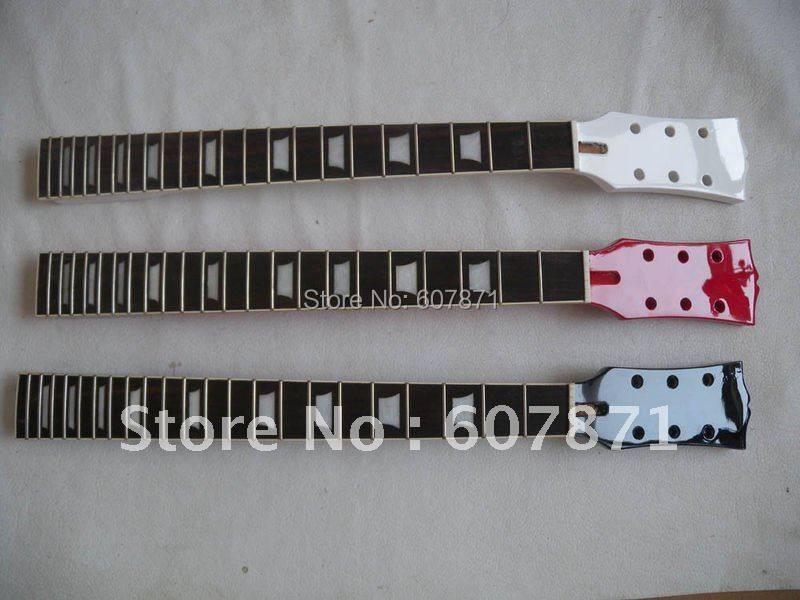 1pcs new  black NEW high quality   Unfinished electric guitar neck  rose  wood  Fretboard 4#