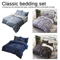 4pcs/set Classic bedding set flower bed linen duvet cover set Pastoral bed sheet two side duvet cover