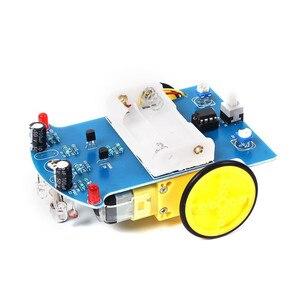 Image 3 - Kit de linha de rastreamento inteligente diy, kit para carros eletrônicos de rastreamento inteligente, diy, peças eletrônicas, D2 1