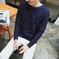 2017 людей зимы О-Образным Вырезом свитера jumper Красочные свитер Мужчин бренд утолщение пуловер трикотажные Снег Рождественский свитер