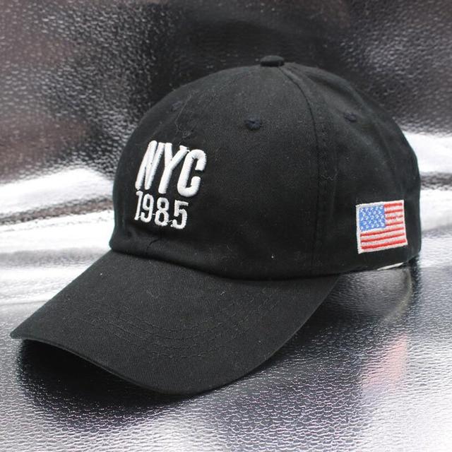 New style New York 1985 Hat America Great New Hats Women Caps Brand US flag UU Baseball Cap For Men Outdoor Sports Snapback