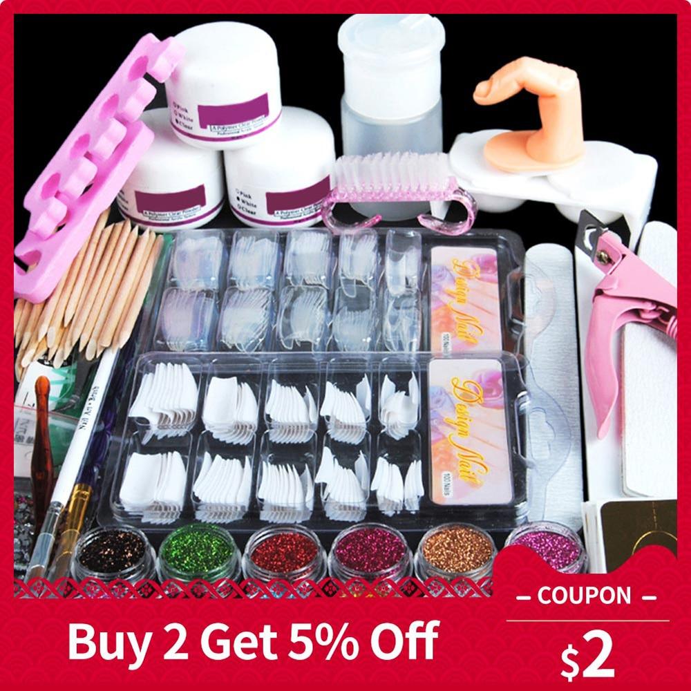 Aliexpress.com : Buy Acrylic Powder Kit Nail Art Pen Dish ...