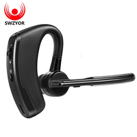 SWZYOR V8 Hands Free Wireless Bluetooth Headphones Business Phone Bluetooth Headset Car Driver Voice Control Earphone