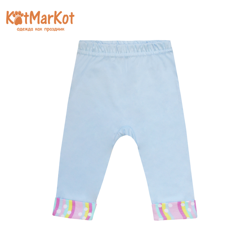 Pants for girls КОТМАРКОТ 5992 girls contrast tape pants