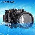 PULUZ 40 м 130 футов глубина для подводного плавания дайвинга водонепроницаемый корпус камеры чехол для Canon EOS-5D Mark III