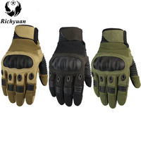 Tactical Gloves Military Full Finger Combat Airborne Outdoor Sports Combat Anti Skid Carbon Shell Gloves Price