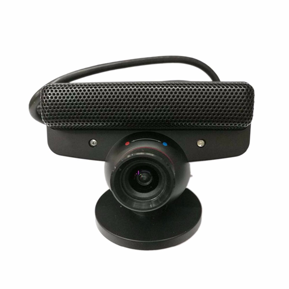 US $8 92 17% OFF|Gaming Motion Sensor Came for PS3 USB Move Motion Eye  Camera with Microphone for Play Station 3 Zoom Games Move System Lens-in
