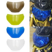 Front Headlight lens Guard Lens Cover Protector for Yamaha MT09 FZ09 MT-09 FZ-09 2016 2015 2014 2013 MT FZ 09 Accessories Parts