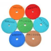 4-inch Diamond Dry Polishing Disc 4″ Buffing Wheel Grinding Disk Sanding Pad 100mm Diamond Abrasive Grinder Sander Machine Pads