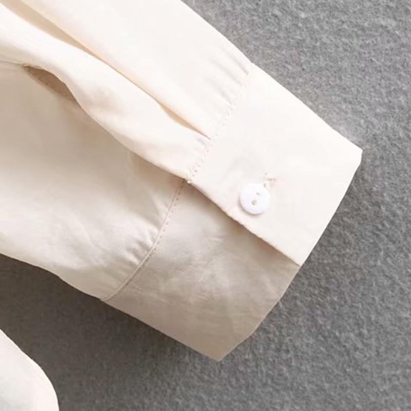 Manches 2019 Chemisiers Blusas Asymétriques Solide Gland Picture Mode Hauts De Col Femmes Longues Décontracté Pour Mujer À Chemises Revers Élégant As Vintage Ux8Xq66