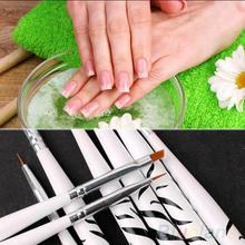 8PCS Zebra Nail Art Dotting Manicure Painting Drawing Polish Brush Pen Tools 2MC3 2SZS