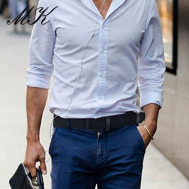 Ремень мужской холщовый для брюк 2