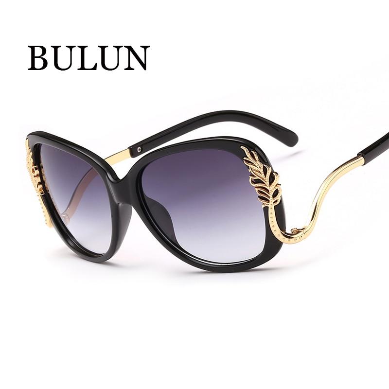 6604f126b24b9 BULUN Vlinder Zonnebril Vrouwen Merk Designer Meest Populaire Zonnebril  Vintage Frame Spiegel Eyewear Oculos De Sol Feminino