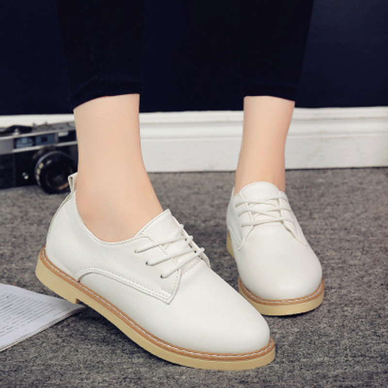 Woman casual shoes 2018 Fashion PU leather white Shoes Breathable Women flats Woman Slip On loafers boat shoes Moccasins vintage women flats chinese fashion beads embroidered casual canvas shoes slip on shoes for woman white shoes