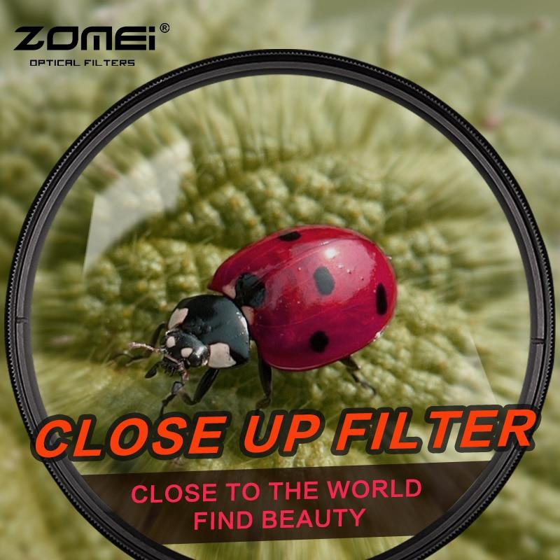 Zomei Macro Close Up lens Filter for Sony Nikon Canon EOS DSLR d5200 d3300 d3100 d5100 D7200 D7100 nd gopro lens lenses потребительские товары cs pro cs 1 dslr 6d canon 5d 3 7 d t3i d800 d7100 d3300 pb039