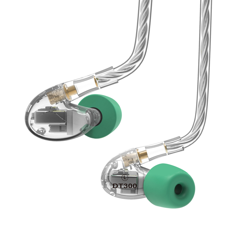 NICEHCK DT300 3BA Drive In Ear Earphone 3 Balanced Armature Detachable Detach MMCX Cable Fever HIFI