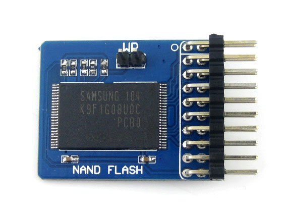 K9F1G08U0C NandFlash Module Memory Storage Module with 1G Bit (128M x 8 Bit) Memory on Board