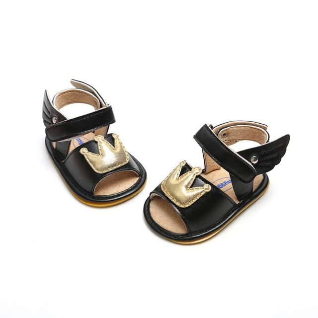 2019 Baby Girl Sandals Summer Leisure Fashion Baby Girls Sandals Infant Crown Princess Shoes 4