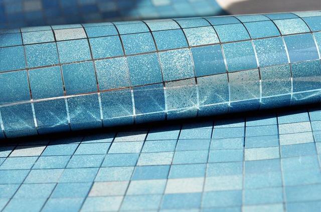 M pvc mozaïek muur papier moderne zelfklevende behang badkamer