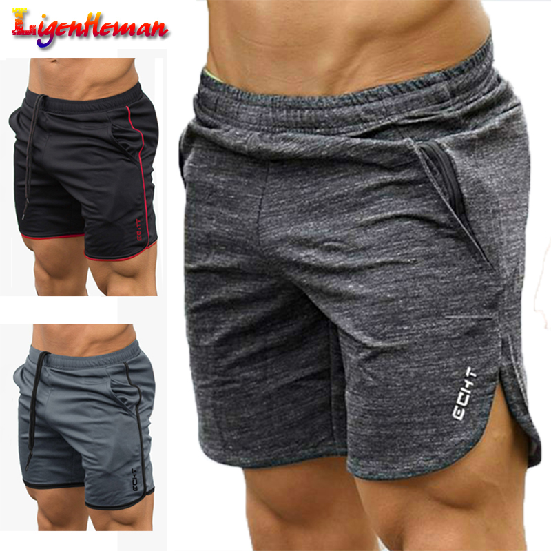 New Summer Fitness Bodybuilding Shorts Men Jogger Beach Short Pants Man Gyms Workout Male Breathable Mesh Quick Dry Sportswear