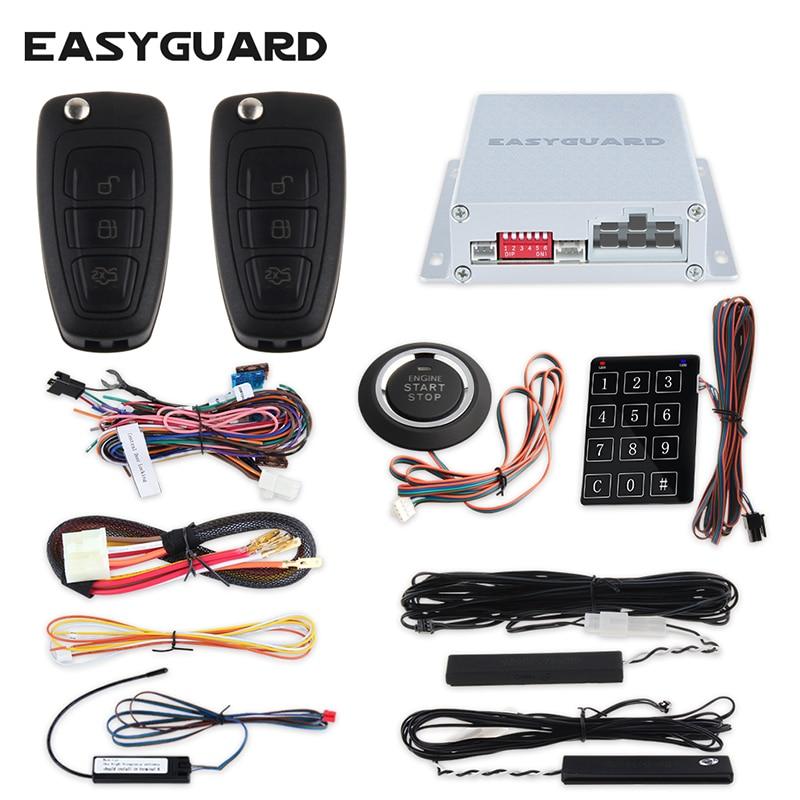 EASYGUARD מרחוק נעילה מרכזית עם שליטה - אלקטרוניקה לרכב