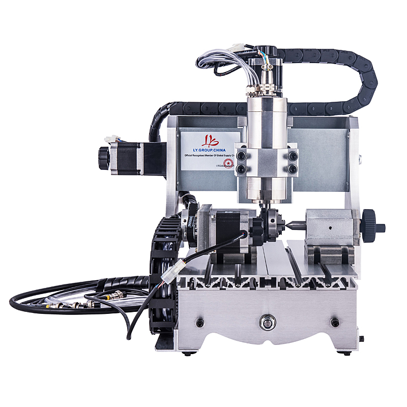mini cnc router 4 Axis 3020 800W Water cooled spindle 3axis Ball screw wood cnc milling machine cnc router mini 3040 milling machine 800w water cooling spindle