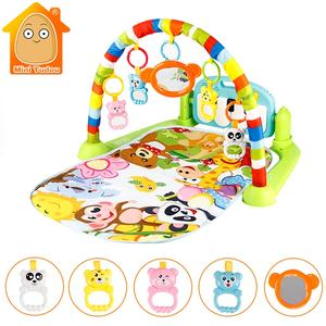 Mini Tudou Gym Puzzles Educational Toys Play Mat Carpet