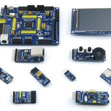 Waveshare STM32 доска STM32F107VCT6 STM32F107 ARM Cortex-M3 STM32 развитию+ 8 шт. аксессуар модули = Open107V посылка B