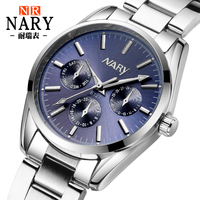 Unique Pointer Design Women Watch MILER Top Brand Leather Men Quartz Watches Youth Style Student Watch