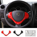 New Arrival ABS Steering Wheel U-Shape Trim Cover Bezel 4 Colors for Suzuki Jimny 2008 up